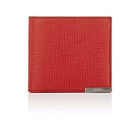 Tod's Men's Leather Billfold Red