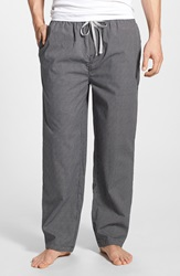 Michael Kors Cotton Lounge Pants Black Pepper