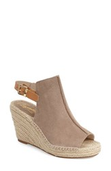 Women's Seychelles 'Charismatic' Espadrille Wedge Taupe Suede