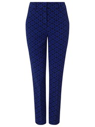 Phase Eight Alice Daisy Trousers Royal Blue Black