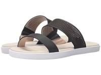 Lacoste Natoy Slide 216 1 Black Natural Women's Slide Shoes