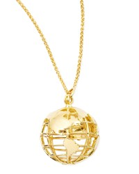 18K Gold My Earth Necklace Monica Rich Kosann Red