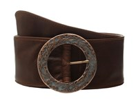 Leather Rock 1503 Old English Brandy Women's Belts Brown