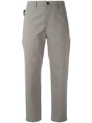 Golden Goose Deluxe Brand High Waisted Chinos Grey