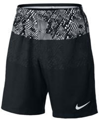Nike Men's Dry Graphic Soccer Shorts White Multi