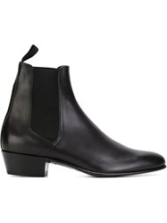 Louis Leeman Ankle Boots Black