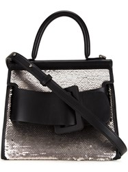 Boyy Sequined Tote Bag Black