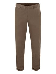 Gibson Straight Leg Cotton Chinos Green