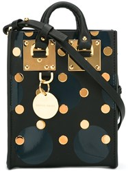 Sophie Hulme Mini Studded Tote Black