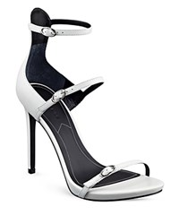 Kendall And Kylie Kendall Kylie Audra Buckled High Heel Sandals White