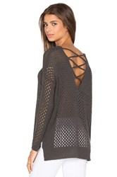 Heartloom Tia Sweater Charcoal