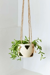Small Spells Triangle Handmade Hanging Planter Shop Home At Nasty Gal