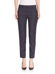Eleventy Downtown Ankle Pants Navy