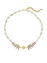 Florentine Azaara Fishtail Necklace Gold