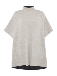 Gray And Willow Gala Oversized Colour Block Jumper Dark Grey