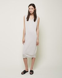 La Garconne Moderne Henley Dress Dove