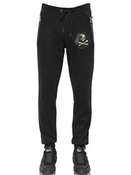 Philipp Plein Skull Cotton Jogging Pants Black