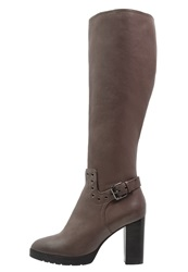 Bruno Premi High Heeled Boots Taupe