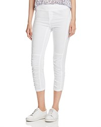 Xcvi Jetter Ruched Crop Pants White