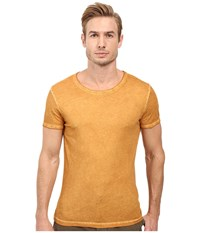 Boss Orange Tour T Shirt Yellow Men's T Shirt Brown