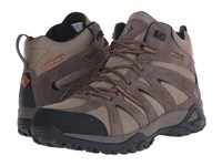 Columbia Grand Canyon Mid Outdry Pebble Bright Copper Men's Shoes Brown