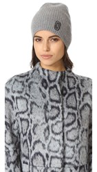 Marc Jacobs Classic Cashmere Hat Grey