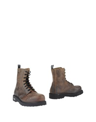 Cult Ankle Boots Dark Brown
