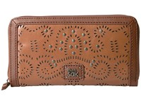 The Sak Iris Zip Around Wallet Tobacco Swirl Wallet Handbags Brown