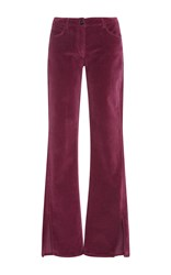 3X1 W2 Mid Rise Flare Jeans Pink