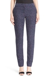 Women's Lela Rose 'Caroline' Stretch Jacquard Pants