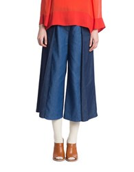 Plenty By Tracy Reese Two Tonal Tailored Denim Trousers Multi