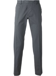 Fendi Patterned Chinos Grey