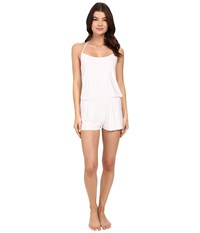 Commando Butter T Back Romper Sl113 White Women's Jumpsuit And Rompers One Piece