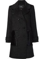 Zac Posen 'Hawthorne' Coat Black