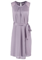 Comma Cocktail Dress Party Dress Stone Taupe