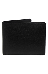 Boconi 'Grant' Rfid Blocker Removable Passcase Leather Wallet Black Grey