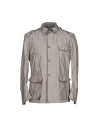Ermanno Scervino Coats And Jackets Jackets Men Grey