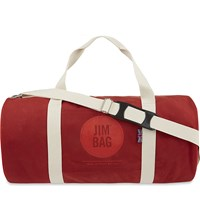 Jim Bag Cotton Canvas Holdall Red
