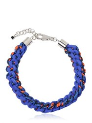 Dsquared Scoubidou Braided Rope Necklace