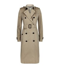 Burberry Kensington Extra Long Heritage Trench Coat Female Beige