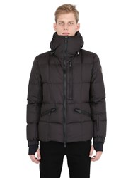 Moncler Coulmes Matte Nylon Down Ski Jacket