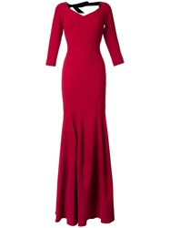 Roland Mouret 'Templeton' Gown Red