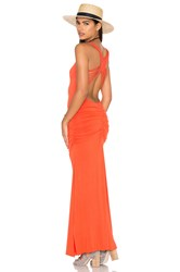 Sky Shainnon Dress Orange