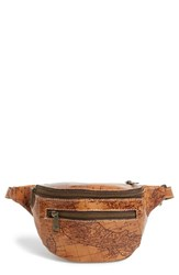 Patricia Nash 'Signature Map Cologne' Leather Fanny Pack