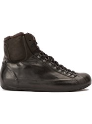 Oxs Rubber Soul Concealed Sole Hi Tops Black
