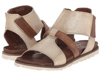 Miz Mooz Tamsyn Gold Women's Sandals