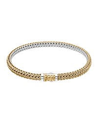 Classic Chain Gold And Silver Extra Small Reversible Bracelet John Hardy