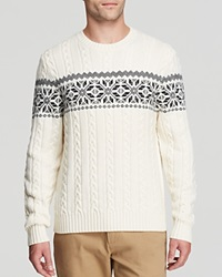 Brooks Brothers Merino Snowflake Sweater