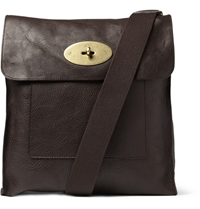 Mulberry Antony Leather Messenger Bag Brown