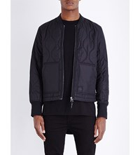Cheap Monday Trouble Quilted Bomber Jacket Black